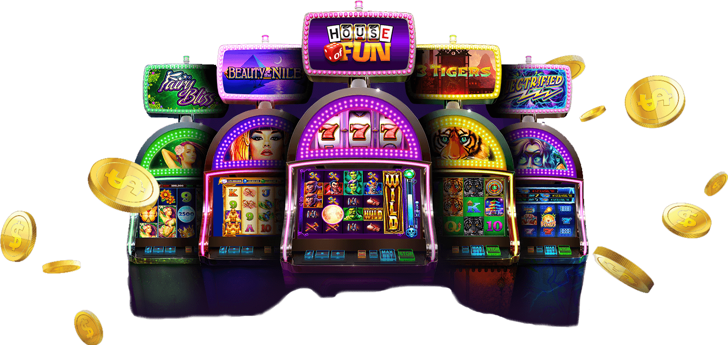 The Five classic slot machines