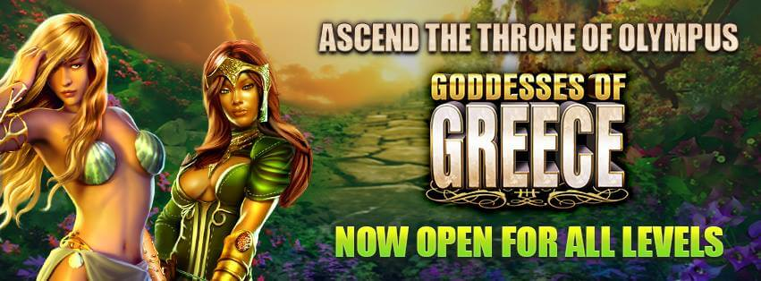 Goddesses of Greece slot machine