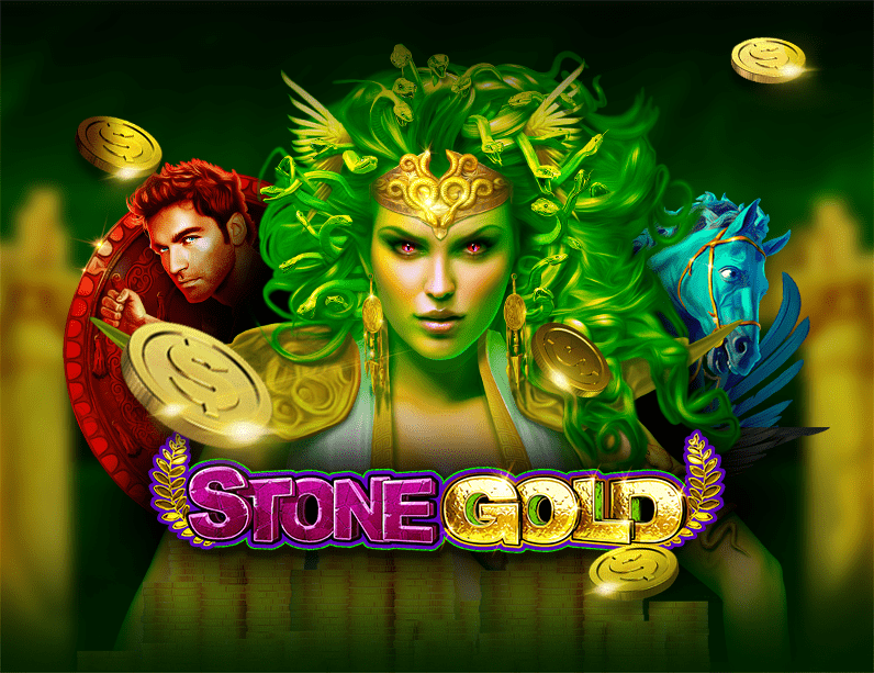 Stone Gold Slots - Mythical Medusa Gold Treasures